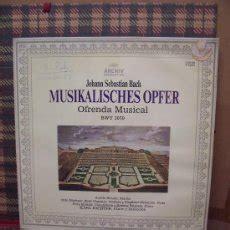 musikalisches opfer bwv 1079 j s bach lp j s bach la ofrenda musical bwv 1079 lp b comprar