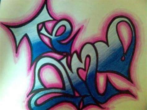 imagenes que digan te amo ivan te amo mucho mi amor en graffiti imagui