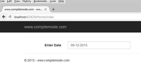 vbscript format date mysql calendar control using jquery ui in asp net mvc 5
