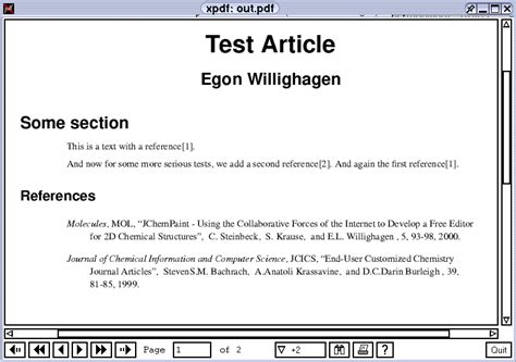 lf257 applications using bibtexml in docbook xml to write scientific articles