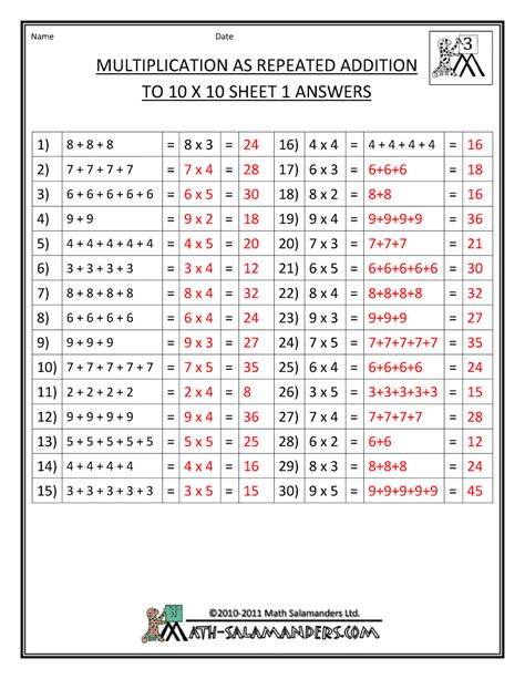 printable math worksheets answer key worksheets division worksheets with answer key