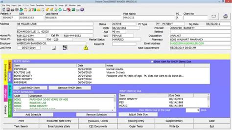 American Medical Software Ob Gyn System Demo Youtube Ob Gyn Office Schedule Template