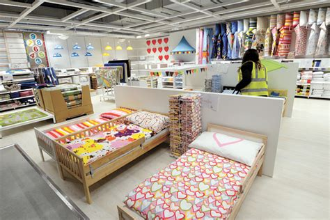 customer inside warehouse part of ikea home store stock map flap pricing put ikea in a bind inside korea joongang