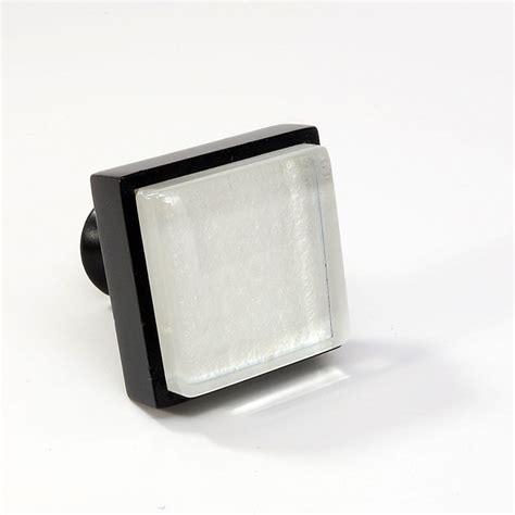Square Drawer Pulls by Glass Black Metal Square Knob Modern Cabinet