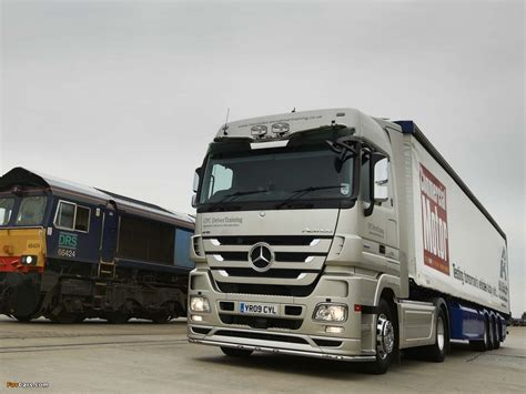 Car Wallpaper Mp3 by Mercedes Actros 1860 Uk Spec Mp3 2008 11 Pictures