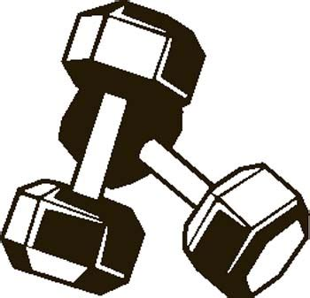 Fitness Weight Clipart
