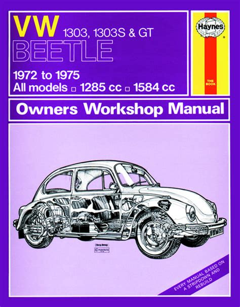 online car repair manuals free 1989 volkswagen type 2 auto manual haynes workshop manual vw type 1 1303 1303s gt