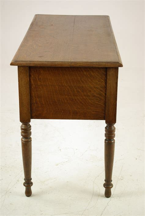 Antique Tiger Oak Desk by Antique Oak Desk Writing Table Tiger Oak Scotland 1910