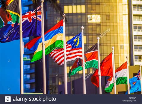 flags of the world melbourne colourful flags from around the world on the streets of