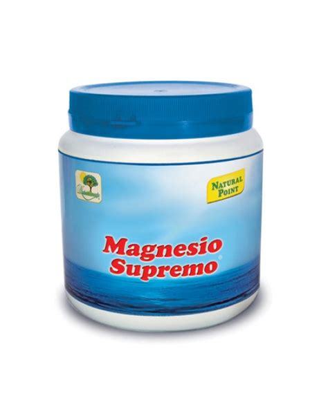 magnesio supremo ingredienti point magnesio supremo 300g