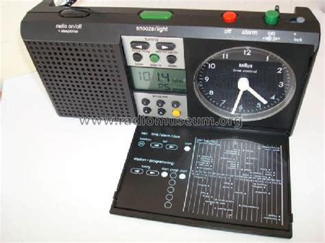 radiowecker braun radiowecker 3869 abr 314 df radio braun frankfurt build 19