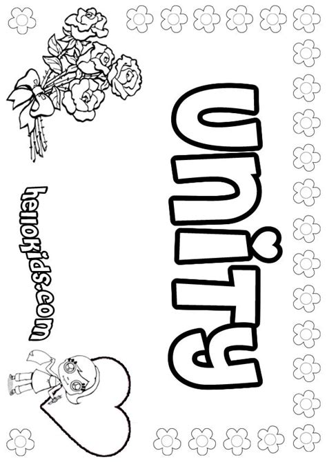 coloring pages for unity unity coloring pages hellokids com