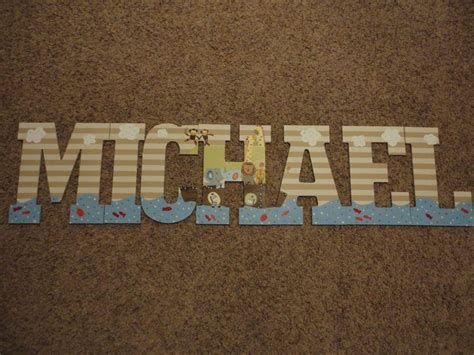 noah s up letter to reserved painted wooden letters lambs ss noah