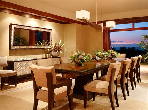 tropical dining room kuikawa 3 tropical dining room hawaii by gm