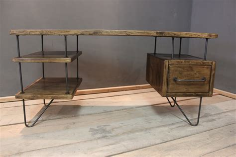rustic modern desk desk modern rustic office desk the copford