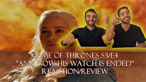 Z Is A Of His Word by Of Thrones Season 3 Episode 4 Reaction Review Quot And