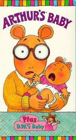 arthur s baby vhs arthur wiki