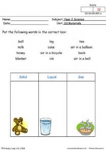 primaryleap co uk solid liquid or gas worksheet