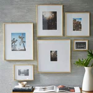 modern wall picture frames 25 best ideas about modern gallery wall on
