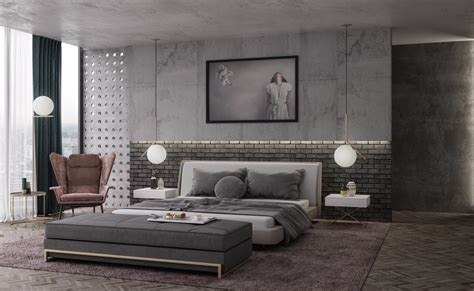 industrial bedroom trendy industrial bedroom design with gray and white color