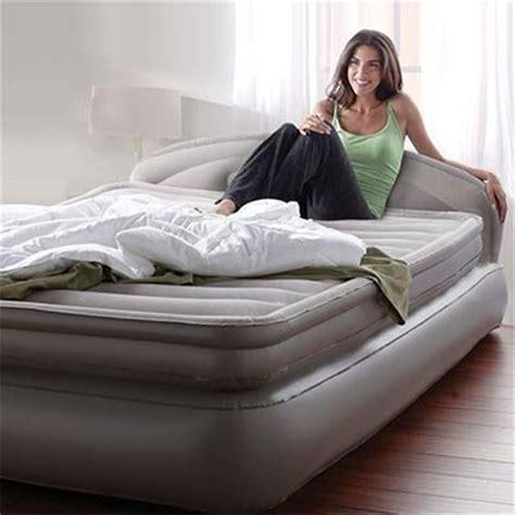aerobed comfort   air mattress  headboard design azfs rollaway beds