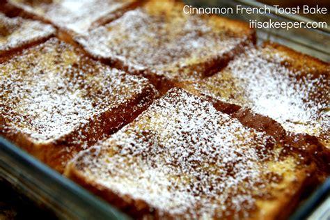 baked french toast recipe dishmaps