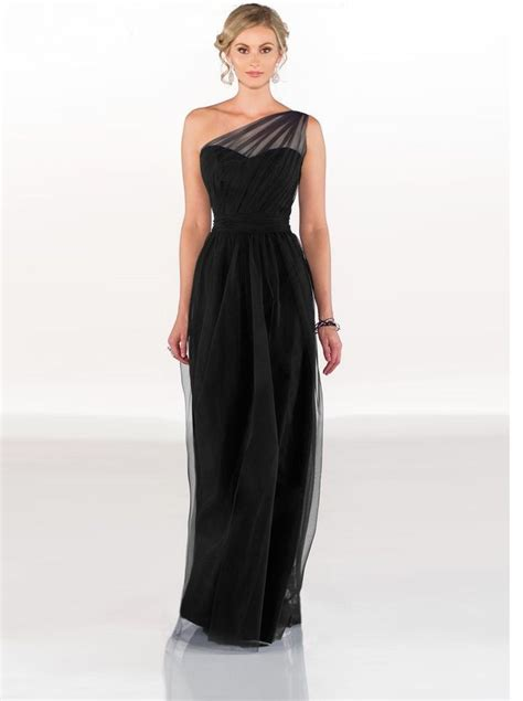 Black Bridesmaid Dresses by The Classic Black Bridesmaid Dresses Univeart