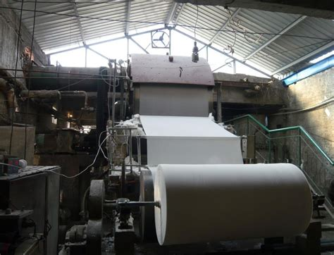Paper Factory - 787 3400mm tissue paper machine products from china