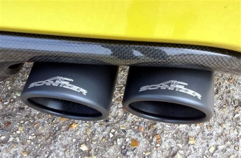 Carbon fibre rear diffuser for BMW M4 F82 F83