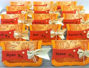 easy place cards for thanksgiving or the daily marker