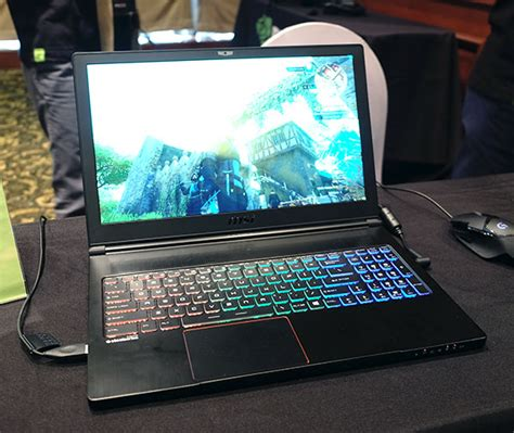 Nvidia Gtx 1060 Mobile Upgrade For Alienware Msi Gaming Notebook nvidia announces new gtx 10 series mobile gpus