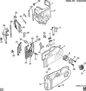 97 Cadillac Parts 97 Cadillac Eldorado Heater