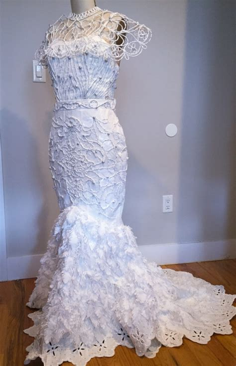 How To Make Toilet Paper Dress - 12th annual toilet paper wedding dress contest the