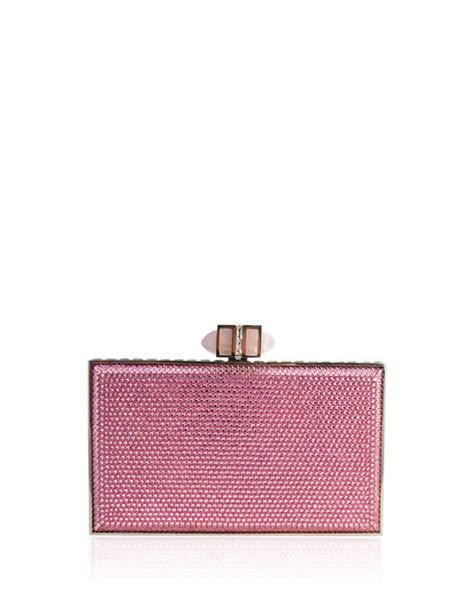 A Neiman Exclusive Prada Spazzalato Clutch by Judith Leiber Couture Neiman Exclusive