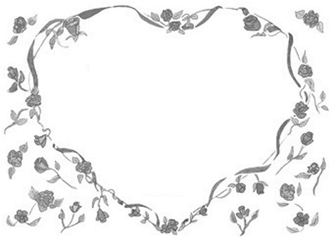 Wedding Border Hearts by Best Wedding Borders 4512 Clipartion
