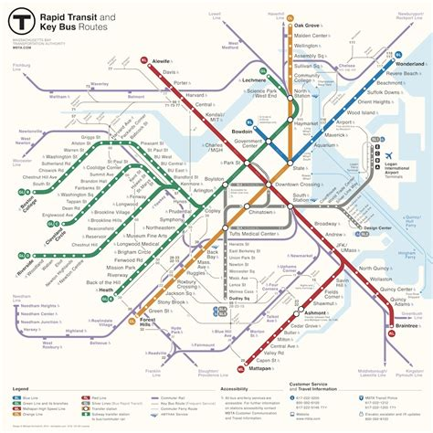 boston mbta map mbta announces winner of map redesign competition