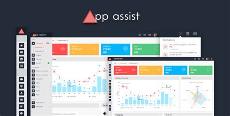 App Assist Angular 4 Bootstrap 4 Ltr Rtl Admin Template Angular Ecommerce Template