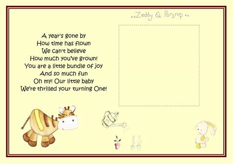 1st Birthday Quotes For 1st Birthday Poems And Quotes Quotesgram