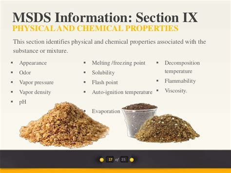Msds Flashpoint Section by Introduction To Msds