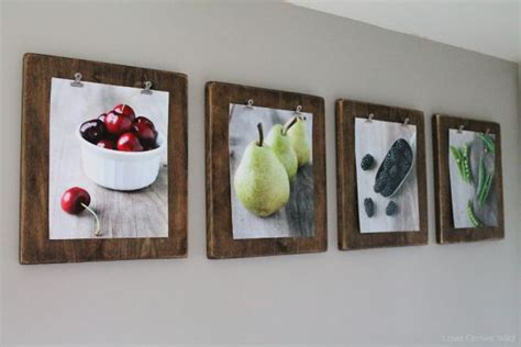 how to display art prints 10 easy diy photo frame designs