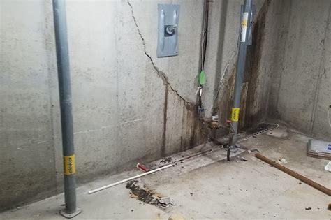 fixing bowed basement walls byron center michigan