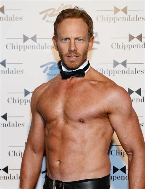 ian ziering chippendales on air with robert cc to interview chippendales