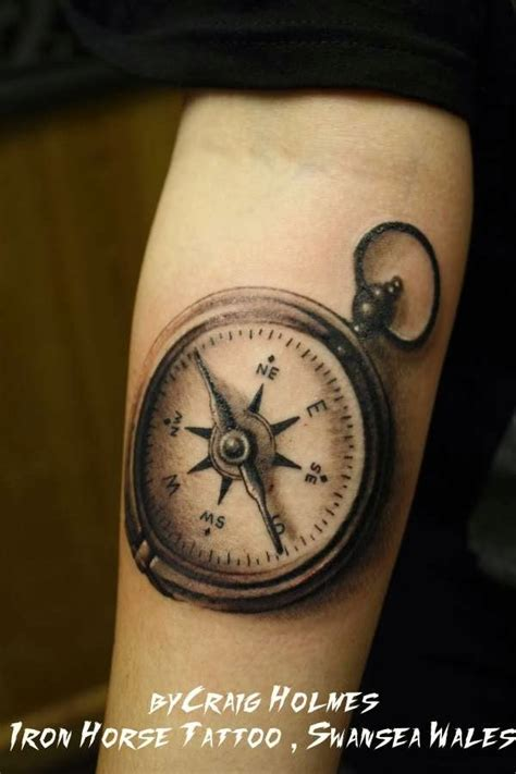 cool compass tattoos gallery for cool compass designs