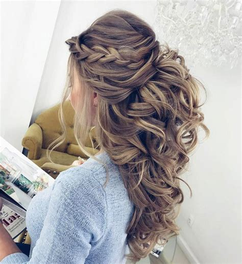 Wedding Hair Up Braid by 25 Best Ideas About Braids And Curls On Grad