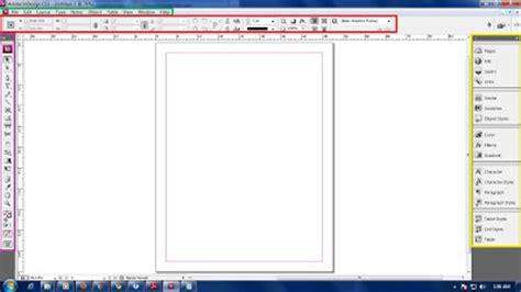 Fungsi Layout Panel | design grafis gratis fungsi tools dan area kerja indesign
