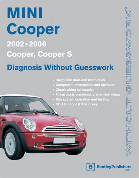 service repair manual free download 2006 mini cooper electronic toll collection mini cooper shop manual diagnosis repair service book 2002 2006 cooper cooper s