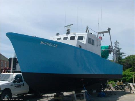 lobster boat for sale in ma dmr 56 offshore lobster dragger buyboat power boats