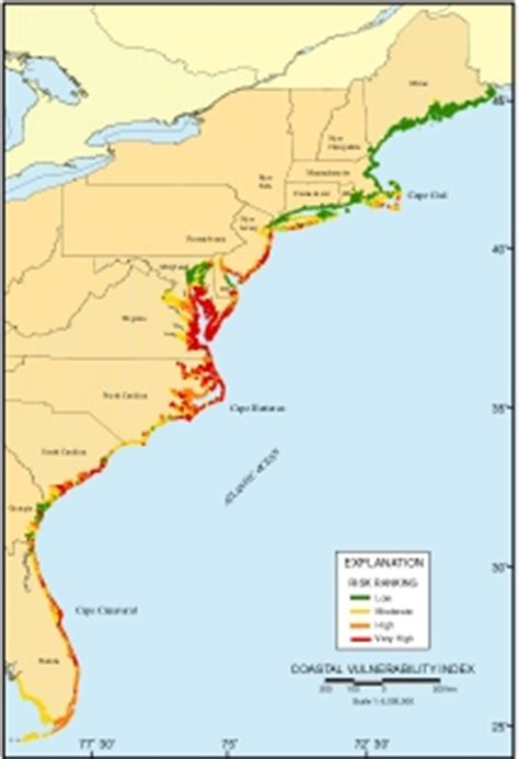 map us atlantic coast national assessment of coastal change hazards