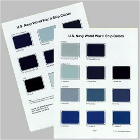 us navy colors us navy world war ii ship colors set 1 review