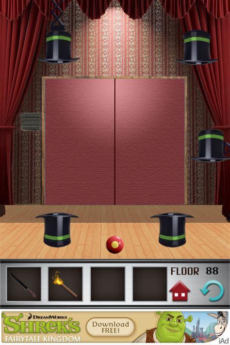 100 Doors Floor 89 - 100 floors walkthrough cheats review 100 floors level